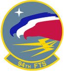 STICKER USAF  94TH TRAINING SQUADRON