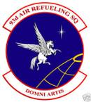 STICKER USAF  93RD AIR REFUELING SQUADRON