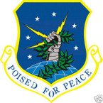 STICKER USAF  91ST SPACE WING