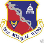 STICKER USAF  79TH MEDICAL WING