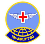 STICKER USAF  73RD AIRLIFT SQUADRON
