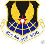 STICKER USAF  65TH AIRBASE WING