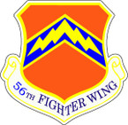 STICKER USAF  56th Fighter Wing