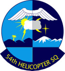STICKER USAF  54TH HELICOPTER SQUADRON