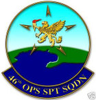STICKER USAF  46TH OPERATION SUPPORT SQUADRON