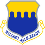 STICKER USAF  43RD AIRLIFT WING