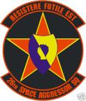STICKER USAF  26TH SPACE AGGRESSOR SQUADRON