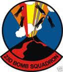 STICKER USAF  23RD BOMB SQUADRON