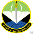 STICKER USAF  22ND SPECIAL TACTICS SQUADRON