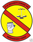 STICKER USAF  21ST SECURITY FORCES SQUADRON