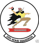 STICKER USAF  20TH BOMB SQUADRON