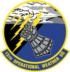 STICKER USAF  15TH OP WEATER SQUADRON