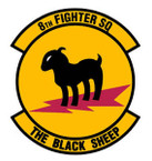 STICKER USAF   8TH FIGHTER SQUADRON