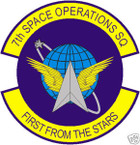 STICKER USAF   7TH SPACE OPERATIONS SQUADRON