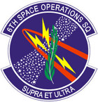 STICKER USAF   6TH SPACE OPERATIONS SQUADRON