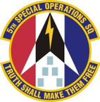 STICKER USAF   5TH SPECIAL OPERATIONS SQUADRON