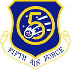 STICKER USAF   5TH AIR FORCE