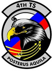 STICKER USAF   4TH Training Squadron B