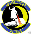 STICKER USAF   4TH SPECIAL OPERATIONS SQUADRON