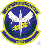 STICKER USAF   1ST SPECIAL OPERATIONS SQUADRON
