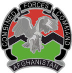STICKER USAE UNIT Combined Forces Command - Afghanistan