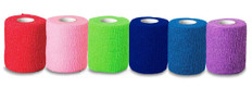 "Ever Guard Co-Flex Self Adherent Bandages - Colors (4"")"