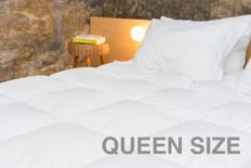 Fiber Duvet Comforter - Queen Size (2 Pack)