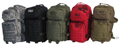 Military Elite Tactical Trauma First Aid Backpack