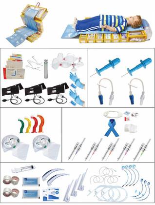 PediPro Pediatric Resuscitation System Kit - Z Fold