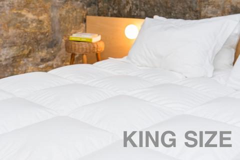 Fiber Duvet Comforter - King Size (2 Pack)