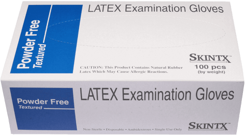 Skintx Powder Free Latex Glove