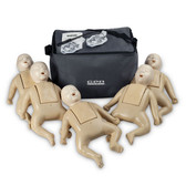 CPR Prompt 5 Pack Infant Training and Practice Manikin - Tan