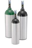 Aluminum Oxygen Cylinder With Z Valve - D Size