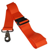 Impervious 2 pc. Plastic Buckle & Speed Clip Spineboard Strap - 5'