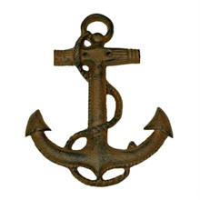 Cast Iron Boat Anchor Wall Hanging Set of 2