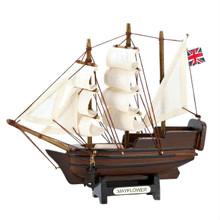 Miniature Wood Tabletop Mayflower Ship Model