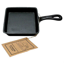 "Old Mountain Cast Iron Small 5"" Square Skillet"