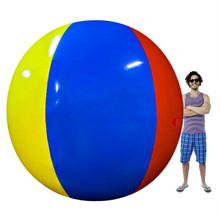 Sol Coastal Behemoth Multi Color Giant 12' Inflatable Vinyl Beach Ball SBEA-201