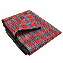 "Grizzly Peak Red Plaid All Purpose Medium 58"" x 58"" Camping Blanket SCAM-002"