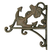 Cast Iron Anchor Wall Mounted Plant Hanger