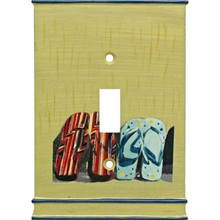 Lifes A Beach Single Light Switch Plate Cover
