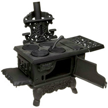 Old Mountain Miniature Replica Wood Cook Stove with Accessories