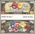 M&M's Candies Million Dollar Novelty Commemorative Bill
