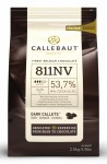 Callebaut dark Belgium chocolate callets 54.4% Bulk bag 2.5kg