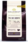 Callebaut Extra Dark Belgium Chocolate Callets 70.5%