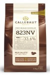 Callebaut Milk Belgium Chocolate Callets 33.6% 2.5kg Bulk bag