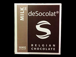 Desocolat Milk Belgium Chocolate Buttons 36% 10kg bulk box