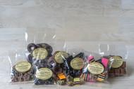 Aniseed Hoops in Dark Chocolate
