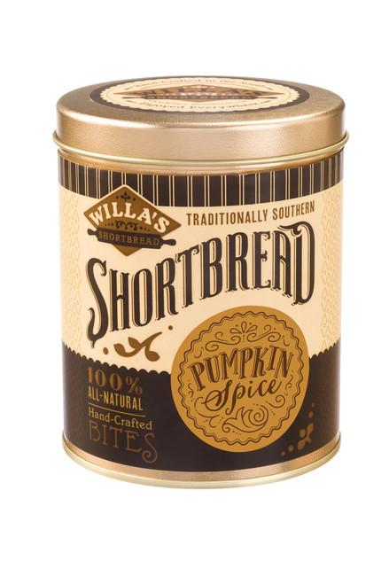 Pumpkin Spice Shortbread Bites Tin