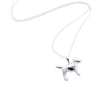 Reeves & Reeves - Sterling Silver Dog Necklace